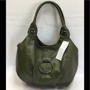 New Olive Drab Color Tote to Go with all. Minicci